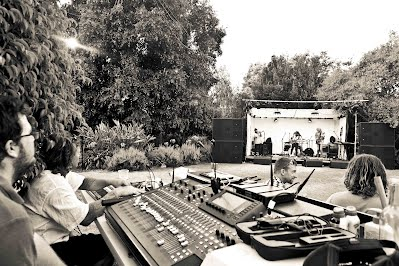 Behringer X32 and The Concords at Rivendell